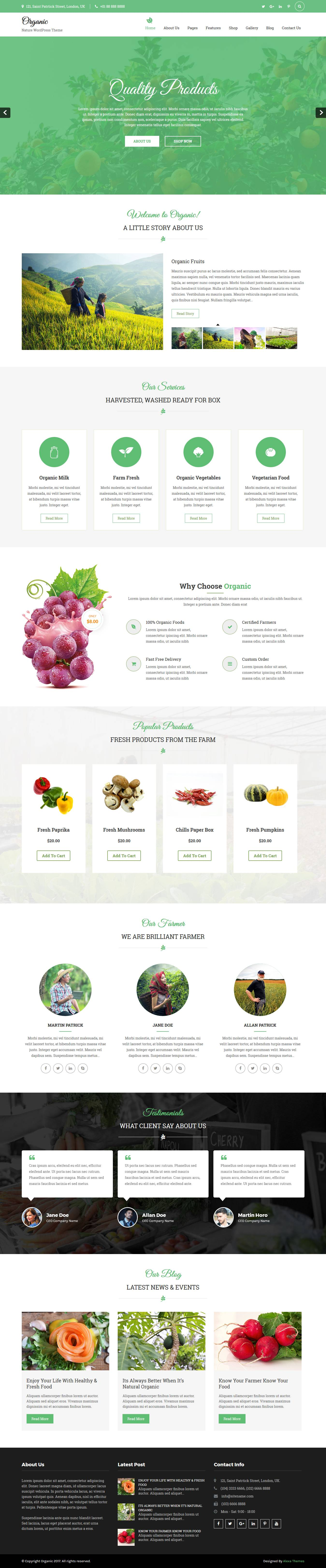 nature-wordpress-theme