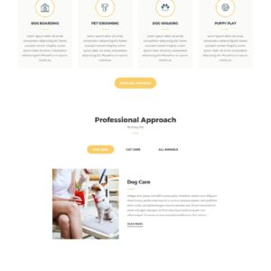 Petcare WordPress Theme