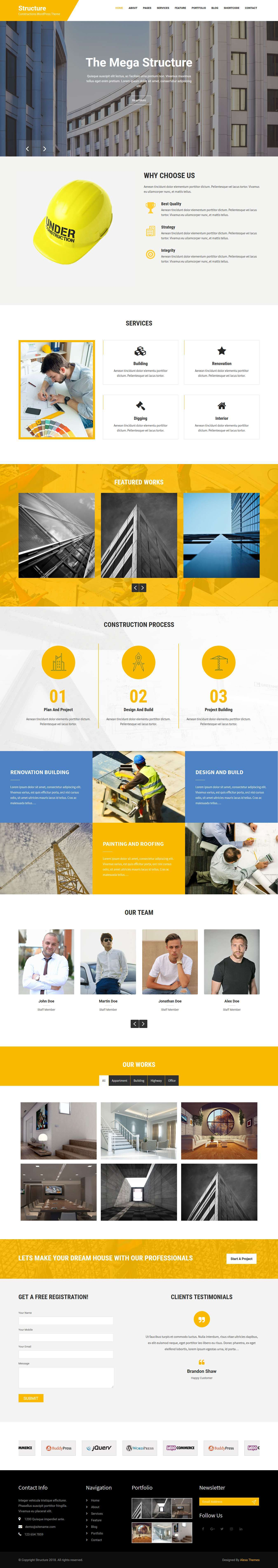 Constructions WordPress Theme