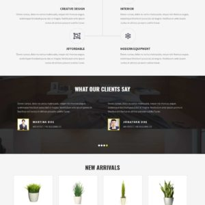 Interior WordPress Theme